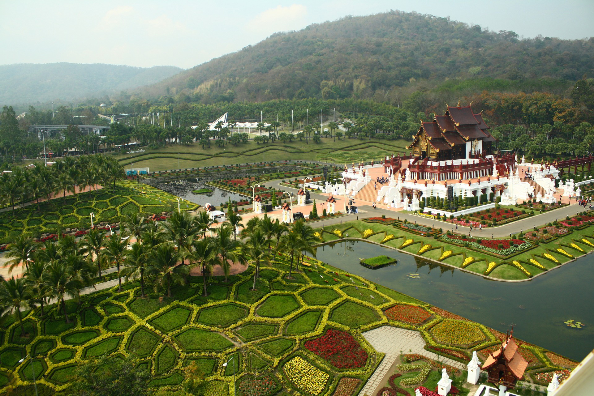 Chiang Mai Thailand Panorama